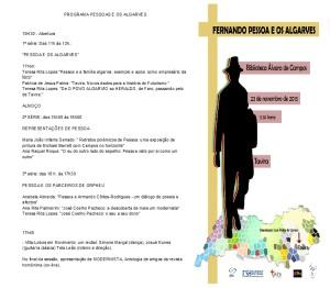 propgrama Encontro Pessoa e os Algarves