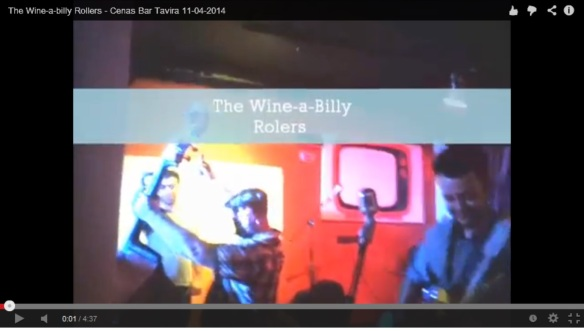 The Wine-a-billy Rollers - Cenas Bar Tavira