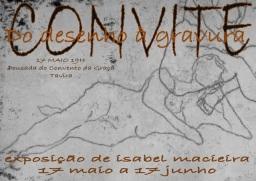 Convite exposição Isabel