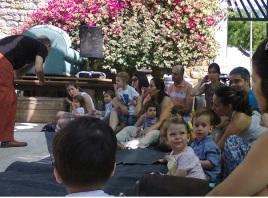 Música para crianças no Castelo de Tavira
