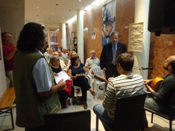 Há Música na Poesia na Biblioteca Álvaro de Campos com Cônsul do Brasil