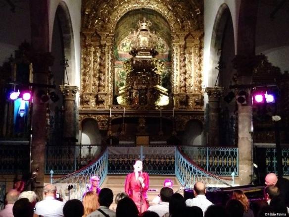 Luisa Amaro na Igreja da Misericórdia