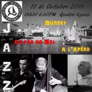 Jazz ao Pôr-do-Sol nClube Náutico