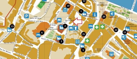 A Ver Tavira Mapa