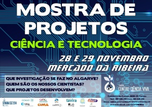 Exposição projetos de ciência e tecnologia