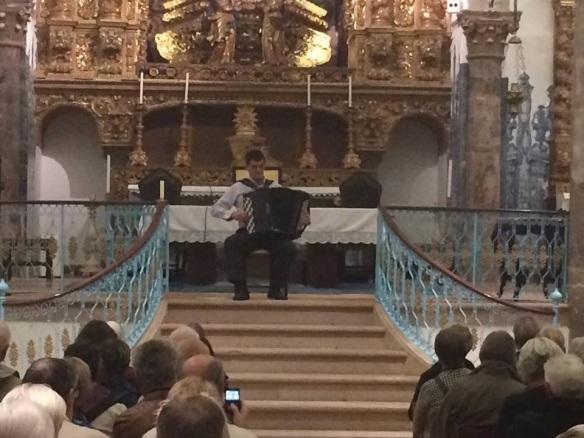 Música nas Igrejas Silvino Campos na Misericórdia