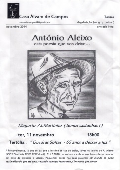 São9 Martinho na Casa Álvaro de Campos