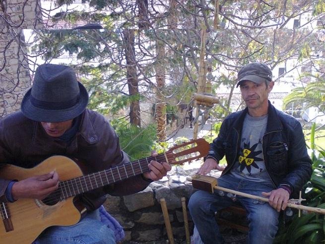 Rui Rodrigues escritor Sub Zero e Helder lopes músico compositor1
