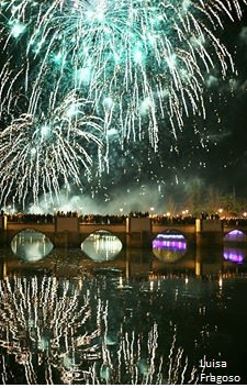 Ano Novo em Tavira em foto de Luisa Fragoso
