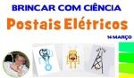 Brincar com ciência postais elétricos