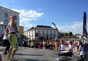 Zumba na Praça da República