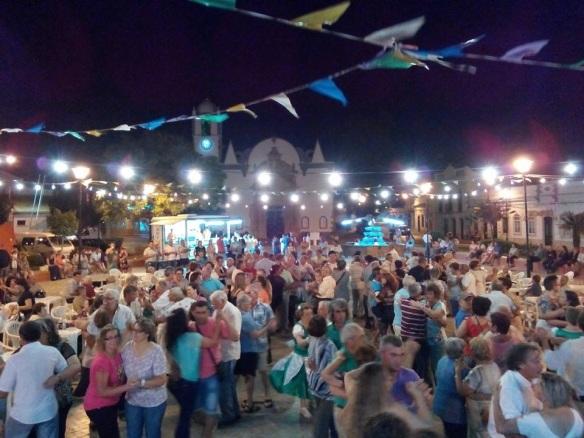 Baile em Luz de Tavira com o Duo Som Ritmo