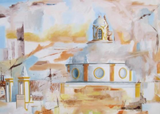 Exposição de pintura de Marisa Patrício