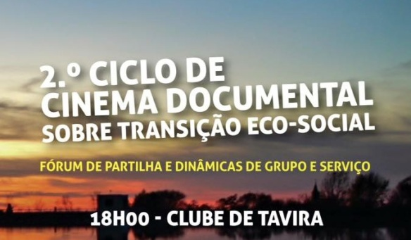 2 ciclo de cinema documental sobre transição eco social