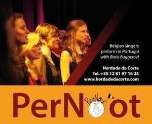 boris bugerov with belgian singers
