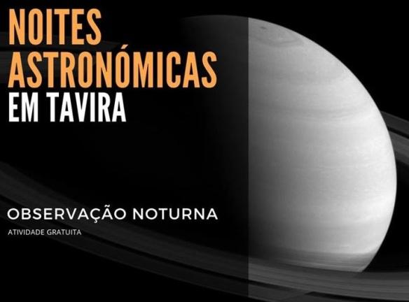 noites astronómicas em tavira