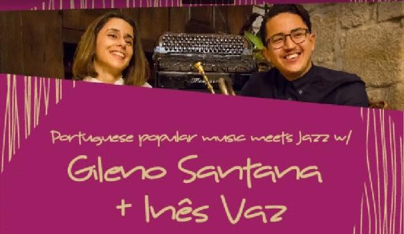 Gileno Santana e Ines Vaz
