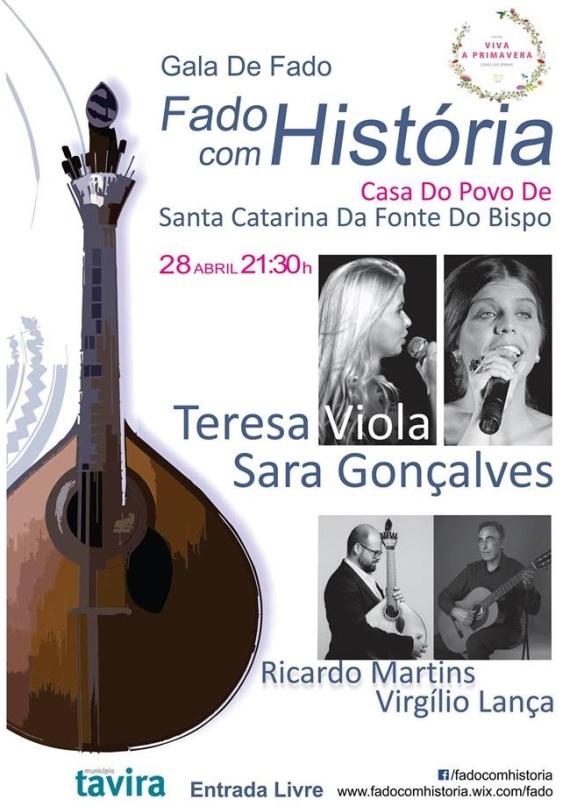 Gala de Fado em Santa Catarina