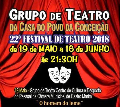 festival de teatro casa do povo conceição tavira 19 Maio