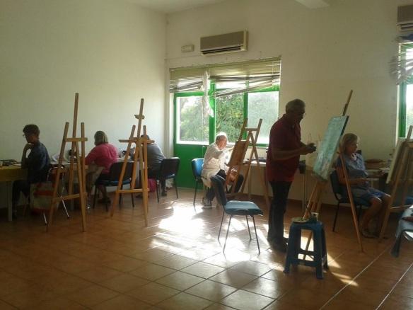 sessões de pintura
